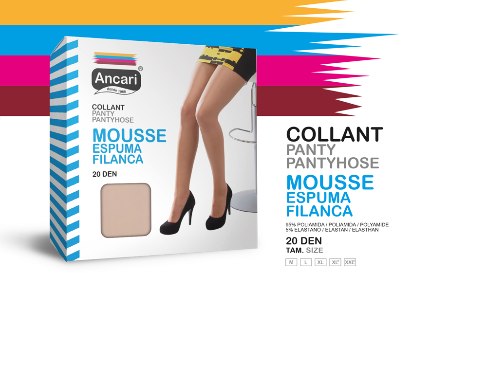 Collant Mousse